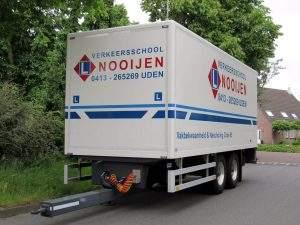 Vrachtwagen aanhangwagen rijbewijs Veghel